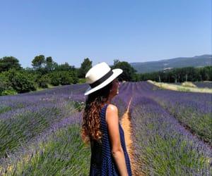 dress, laugh, and lavender image