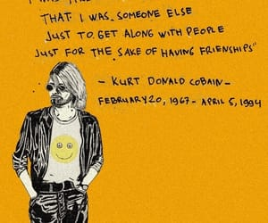 quotes, nirvana, and kurt cobain image
