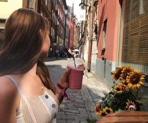 coffee, dress, and food image