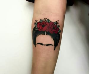 frida kahlo and tattoo image