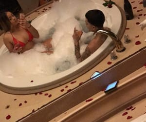 couple, goals, and jacuzzi image