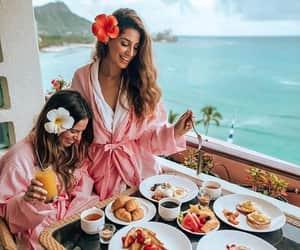 besties, breakfast, and FRUiTS image