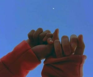 couple, sky, and friendship image