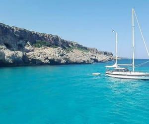 bateau, vacance, and majorque image