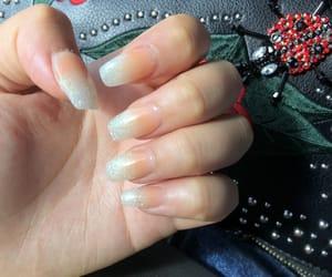 bag, nail designs, and girl image