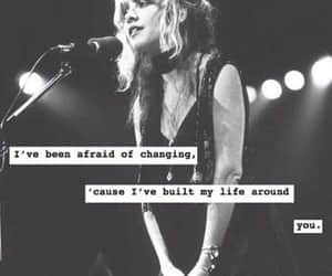 black and white, fleetwood mac, and poem image