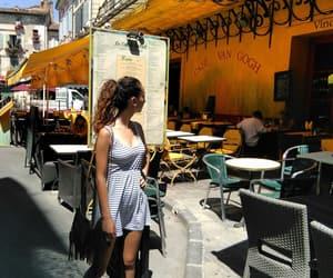 art, coffe, and dress image