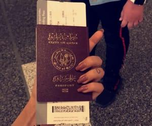 airport, doha, and qatar image