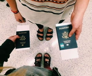 airport, fun, and travel image