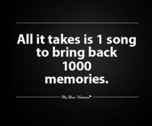 song, memories, and music image