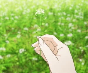 anime, natural, and flower image