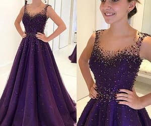 prom dress, prom gown, and pageant dress image
