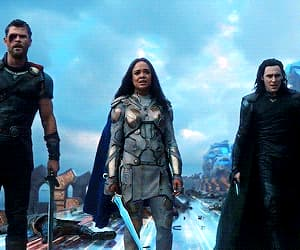 Avengers, thor, and tom hiddleston image