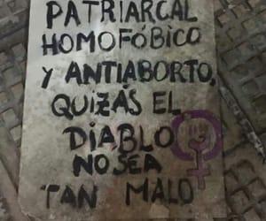 argentina, diablo, and feminist image