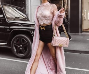 fashion, pink, and look image