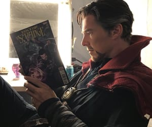 Marvel, benedict cumberbatch, and doctor strange image