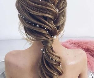 beautiful, hairstyle, and fashion image