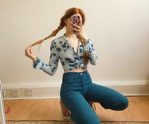 blue, clothes, and instagram image