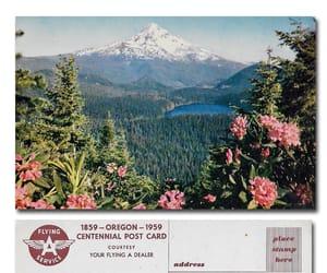 postcard, retro, and unused image