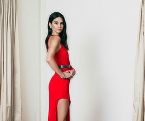 dress, famous, and kendall jenner image