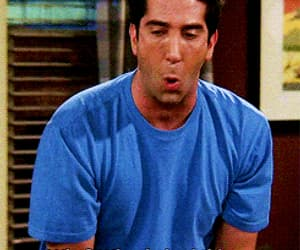 gif, ross, and geller image
