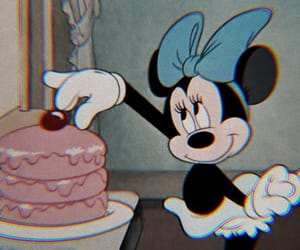 disney, minnie mouse, and cake image