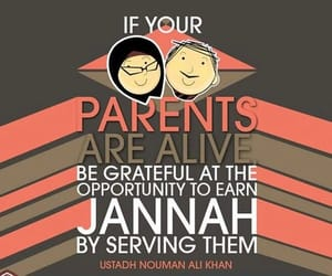 islam and parents image