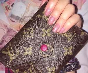 designer, LV, and pink image