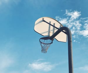 aesthetic, Basketball, and blue image