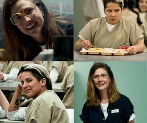 carol, orange is the new black, and daddy image