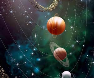 planet, wallpaper, and space image