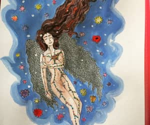 angel, draw, and Dream image