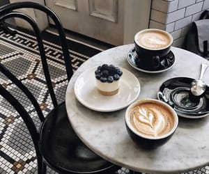 coffee, drink, and cake image