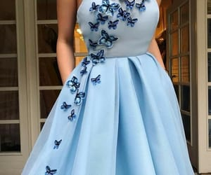 blue and dresses image