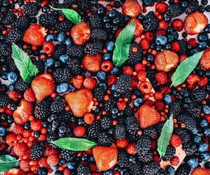 berries, food, and berry image