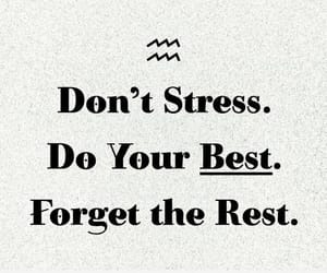 stress, Best, and quotes image
