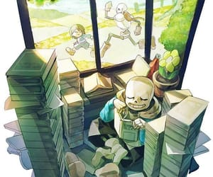 papyrus, sans, and frisk image