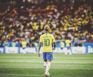 brazil, neymar, and king image