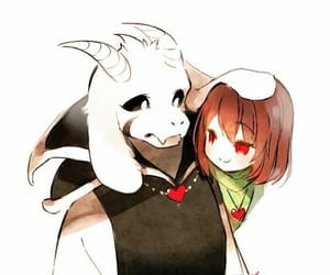 art, asriel, and game image