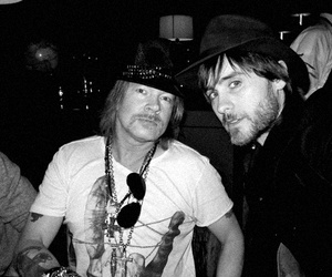 jared leto, axl rose, and 30 seconds to mars image