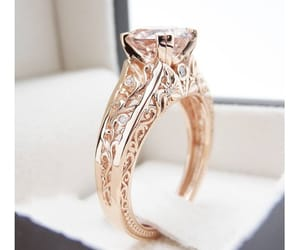 etsy, unique ring, and filigree ring image