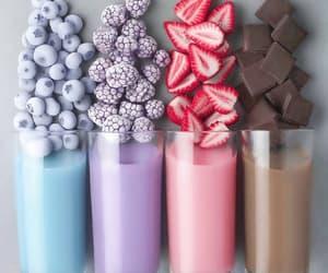 chocolate, strawberry, and yummy image