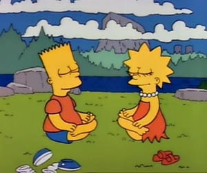 peace and the simpsons image