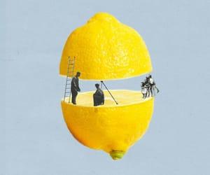 lemon, aesthetics, and art image