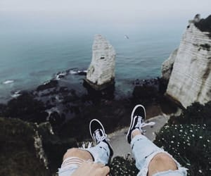 nature, sea, and travelling image