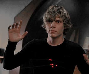 gif, evan peters, and american horror story image