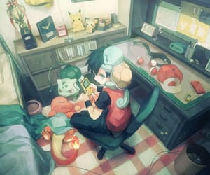 art and pokemon image