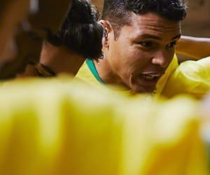 brazil, thiago silva, and captain image