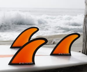 surf fin, surf fins, and surf board fin image