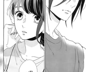 manga, manga girl, and monochrome image